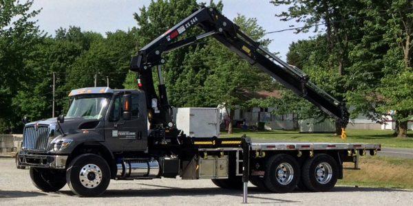 camions pour le déménagement de coffre-fort et pour l'installation de coffre-fort chambre forte ou voûte modulaire
